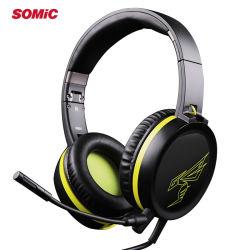 Somic G801 игры Гарнитура Разъем для наушников с микрофоном для PS4, XBox, портативного компьютера