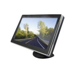 Schermo dell'affissione a cristalli liquidi della visualizzazione del video della macchina fotografica della parte posteriore dell'automobile di avoirdupois per l'avoirdupois dentro, HDMI, scatola nera dello specchio DVR di tocco