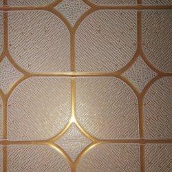 595*595mm de PVC de gypse bloc de suspension /brique les carreaux de plafond pour les grossistes de plafond de la canopée /