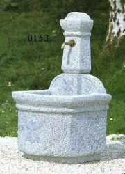 Naturstein Grau Granit Brunnen SF-FT-0154 für Gartenlandschaft