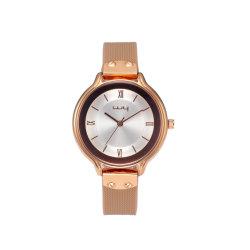 New Fashion Designer Geneva Custom silicone Sport Ladies Watch Wy-032