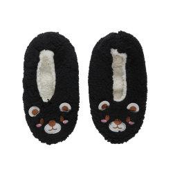 Moda Jacquard padrão colorido quente acolhedor de microfibras de socks Quarto Macio Sock para manter quente
