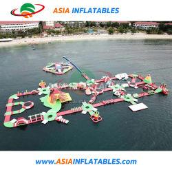 ملحقات الحديقة المائية القابلة للنفخ ملعب للأطفال في المحيط العائم