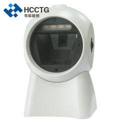 Chiosco dello scanner di codice di Qr di Infrared del USB del chip del lettore omnidirezionale da tavolino del laser 2D (HS-7301)