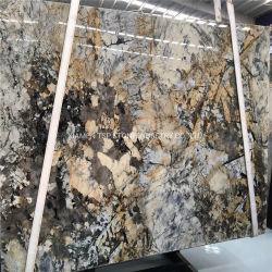 Luxuxweißes/Schwarzes/Gelb/Silber/Beige/Travertin-/Kalkstein-/Onyx-/Sandstein-/Marmor-/Granit-Platte für Fertigcountertop-/Bodenbelag-/Fußboden-Pflasterung-Stein-Platte-Fliesen