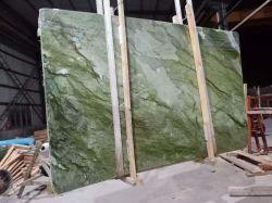 La pietra naturale ha lucidato/marmo verde del nord smerigliatrice per il pavimento/le lastre/mattonelle/controsoffitti/scale/davanzali/decorazione interiori mosaico/della colonna della parete