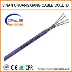 Câble réseau FTP/SFTP CAT5e cordon de raccordement du câble de données de communication