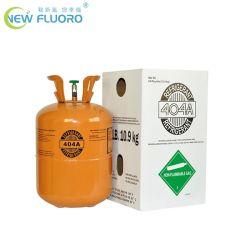 El 99,8% 10,9 kg de gas refrigerante R404A con el cilindro para el sistema de refrigeración