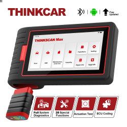 Thinkcar Thinkscan Max ferramentas para o Scanner de Diagnóstico Completo do Sistema Automático de 28 função Reset Teste bidireccional via PCR909 de codificação da ECU