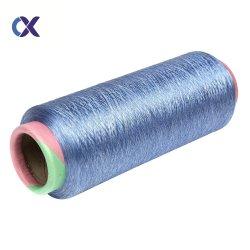 Fils de polyester DTY 150D/96F Tirer les fils texturés pour le tissage et tricotage