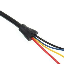 Assemblage de câble personnalisé avec décharge de traction
