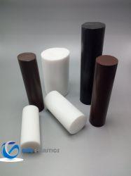 Barra piena in teflon in plastica barra in PTFE bianco/nero
