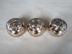 El vidrio Egg-Shaped Candleholer
