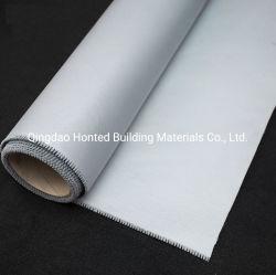 反火の高温抵抗力があるガラス繊維ファブリックガラス繊維の耐火性ファブリックは/溶接、火のカーテンのためのPUのシリコーンゴムに塗った