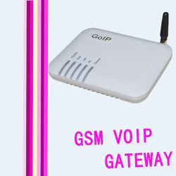 Mini entrada de GoIP G/M de la ayuda Vlan Qos de Voptech