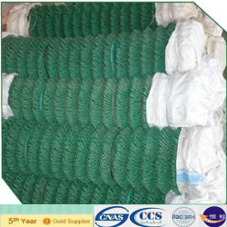 Enduit de PVC de filets de maillon de chaîne de clôture de jardin (XA-NSI17)