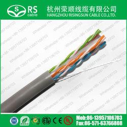 Низкая стоимость CAT6 UTP CCA кабель локальной сети с помощью датчика СЛР, утвержденных