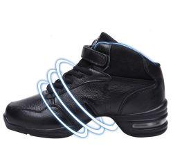 2013 vormen de Hete Schoenen van de Dans van de Jazz van Hightop van het Leer van de Voorraad van de Verkoop Echte Moderne, de BinnenTennisschoenen van de Dans voor het Dansen van Vrouwen Grootte 35-40 van de EU van Schoenen
