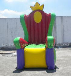 Président du trône gonflables pour les enfants Partie (K3026)