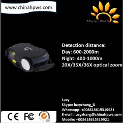 Portable de mano de la seguridad de infrarrojos día y noche cámara CCD color