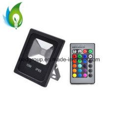 10W RGBW Mehrfarben-LED Fernsteuerungs-LED Flut-Licht Prodection Lampe mit Cer RoHS Zustimmung