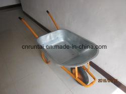 Hot Sell Durable Russia Model Gegalvaniseerde schotel Wheelbarrow (Wb6404N)