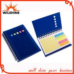 맞춤형 컬러풀한 PP 커버 나선형 노트북/홍보용 노트 패드(PPN222)