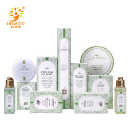 Fünf-SterneLuxushotel-Badezimmer-Annehmlichkeiten Wholesale Shampoo-Hotel-Versorgungsmaterialsatz-Shampoo