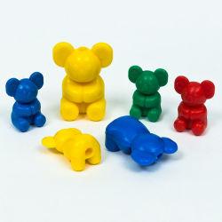 دب يعدّ رياضيات [منيبولتيفس] [أكأيشن فيغر] بلاستيكيّة لعبة يثبت لأنّ جديات يعلم لعبة تربويّ
