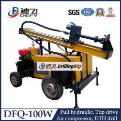 Dfq-100W de perfuração DTH cabeça rotativa para a área de rocha