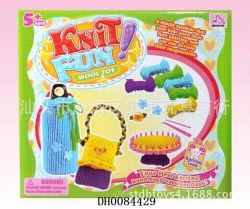 Juguetes de las Lanas del Modelo DIY del Knit de la Muñeca de la Promoción Que Hacen Punto Fijados