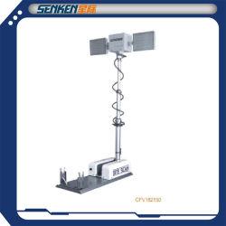 2,5 m de haut mât télescopique lumineux à LED haute lumière Analyse du site de la tour lumineuse de numérisation de nuit