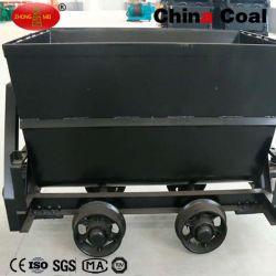Voiture de chemin de fer Bucket-Tipping Mine de charbon
