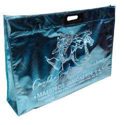 Nontissé sac fourre-tout cadeau pour la publicité/Film Laser (XHWM004)