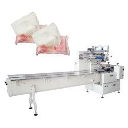 Tecido guardanapo molhado Saco Preformado máquina de embalagem de Cintagem