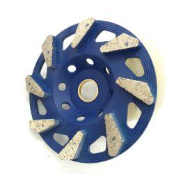 Алмазные шлифовальные чашки колесо с помощью алмазных сегментов