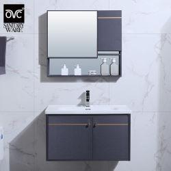 Design clássico Alumínio Mobiliário Banho armário de toucador definido