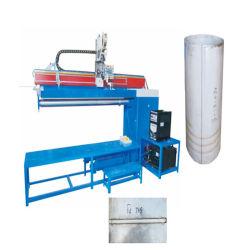 Unter Druck gesetzter Edelstahl-Solarwarmwasserbereiter-/Becken-/Geysir-gerader Nahtschweißung-Maschinen-Naht-Schweißer