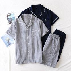 Juego de niños Pajama Pajama algodón conjuntos de noche ropa mujer