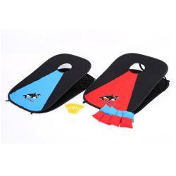 Cornhole Outdoor/ intérieur plateau de jeu portable de jeu de la famille Bean Bag Toss Set ESG16229