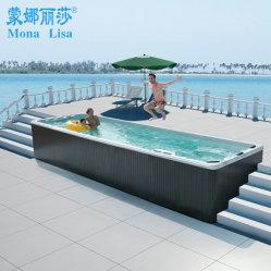 STAZIONE TERMALE esterna della piscina del mulinello di esercitazione di Monalisa 7.8m
