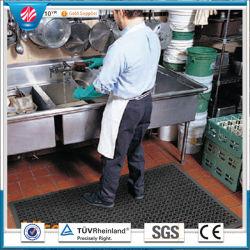 La tuile en caoutchouc/cuisine Wearing-Resistant tapis en caoutchouc antiglisse/tapis en caoutchouc de la résistance de l'huile