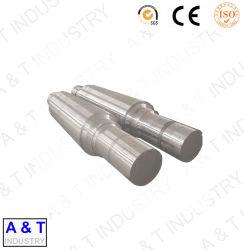 Top-Qualität Offene Die Stahl Spline Geschmiedete Welle Geschmiedete Flansche Welle