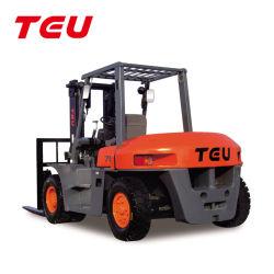 Automatischer hydraulischer Übertragungs-Dieselgabelstapler China-Teu 7t