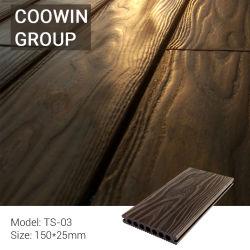 schede di pavimento composite di plastica di legno di superficie impresse 3D di WPC
