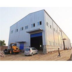 Große Überspannungs-vorfabriziertes Aufbau-Stahlkonstruktion-Rahmen-Lager-Metallgebäude