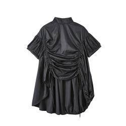 نساء عرضيّ [ت-شيرت] ثوب قابل للتعديل تكّة قميص ثوب