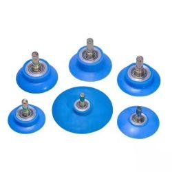 실리콘 롤러 바퀴 목공 기계 예비 품목을 감싸는 고무 롤러 바퀴 PVC WPC 합성 단면도