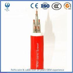 BS 6724の耐火性の電源コード35のSqmmの銅のコンダクターマルチコアのUnarmoured 2 25mm2 1X120mm2の耐火性