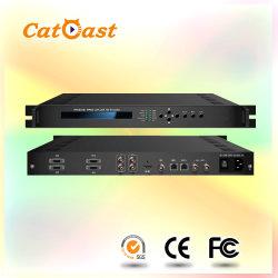 O SDI, CVBS, YPbPr, HDMI a ASI, Extremidade IP Brodcasting Digital AC3 Áudio MPEG-2/H. 264 Codificador HD